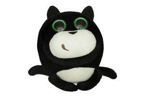 Кот Fancy черный, 23 см