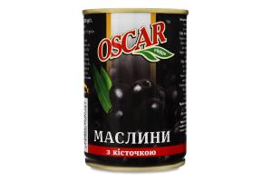 Маслини з кісточкою Oscar foods з/б 280г