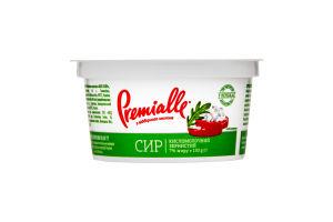 Сир кисломолочний 7% зернистий Premialle ст 150г