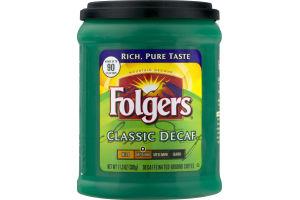 Folgers Classic Decaf Ground Coffee Medium