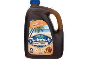 Tradewinds Slow Brewed Iced Tea Unsweetened Peach