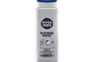 Nivea Men 3-In-1 Body Wash Platinum Protect