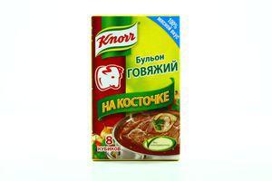 Бульон быстрого приготовления говяжий на косточке Knorr к/у 80г