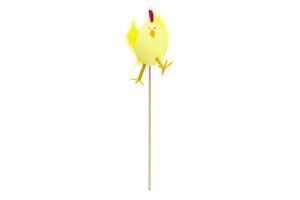 Украшение декоративное Цыпленок на палочке ас D-*1