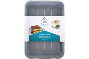 Smart Living Covered Cake Pan