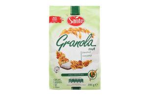 Пластівці Sante Granola з горіхами 350г х14