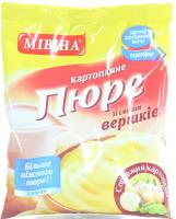 Пюре быстрого приготовления картофельное со вкусом сливок Мівіна м/у 120г