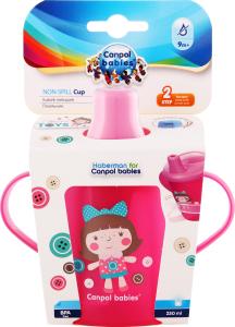 Кружка-непроливайка для детей от 9мес 250мл Canpol babies 1шт