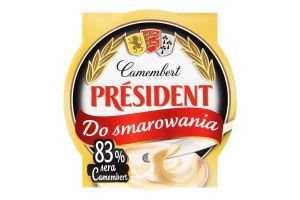 Сыр плавленый 50% Camembert President ст 120г