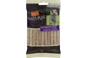 Hartz Natural Small Dog Munchy Sticks Rawhide - 20 CT