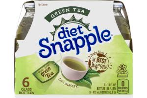 Diet Snapple Green Tea - 6 PK