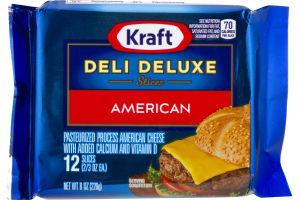 Kraft Deli Deluxe Slices American - 12 CT
