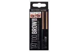 Гель-тинт для бровей Brow Tattoo светло-коричневый Maybelline 4.6г
