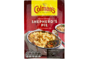 Colman's Of Norwich Shepherd's Pie Family Seasoning Mix ...