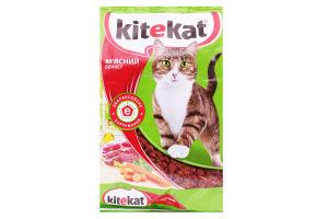 Корм для взрослых котов Мясной банкет Kitekat м/у 1кг