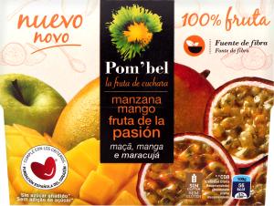 Пюре яблоко манго и плод страсти