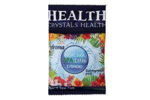 Сіль морська з піною Квітучий рай Crystals Health 600г