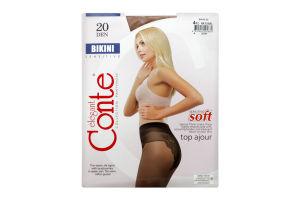 Колготки Conte Bikini 20den 4 Natural