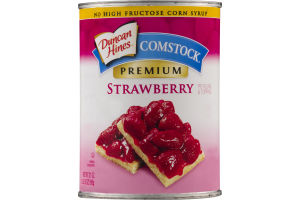 Duncan Hines Comstock Premium Strawberry Pie Filling & Topping