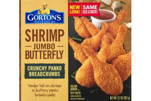 Gorton's Shrimp Jumbo Butterfly Crunchy Panko Breadcrumbs