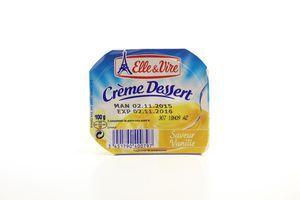Десерт Elle&Vire Creme Dessert ванільний з вершками 100г
