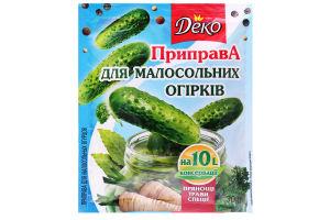 Приправа для малосольних огірків Деко м/у 30г