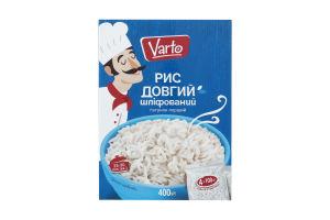 ВАРТО Рис довгий шліфований ґ/п 4х100 400г