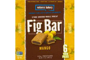 Nature's Bakery Fig Bar Mango - 6 CT