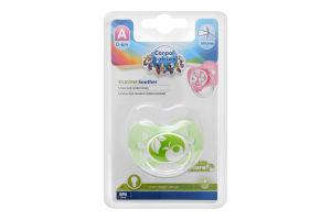 Пустышка для детей 0-6мес силиконовая круглая №22/410 Canpol babies 1шт