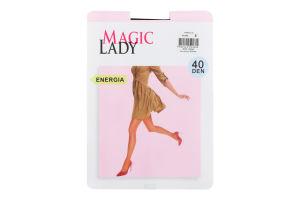 Колготки жіночі Magic Lady Energia 40den 2 black