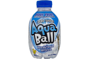 AquaBall Naturally Flavored Water Drink Berry Frost