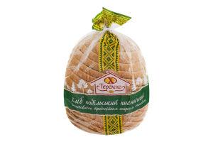 Хліб пшеничний подовий нарізний Подільський Теремно м/у 0.7кг