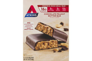 Atkins Chocolate Peanut Butter Bar - 8 CT