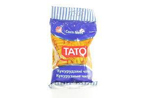 Кукурузные чипсы c солью и пряностями ТАТО м/у 60г
