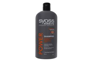 Шампунь для волосся щоденний Power&Strenght Syoss Men 500мл