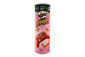 Чіпси картопляні Краб Pringles тубус 165г