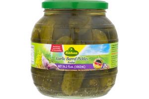 Kuhne Kosher Barrel Pickles Garlic
