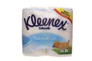 Папiр туалетний Kleenex 3-шар.білий 4*155