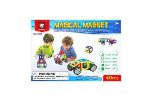 Конструктор для детей от 3лет №702А Magical magnet Xinbida 1шт