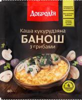 Каша кукурузная с грибами Банош Добродія м/у 40г