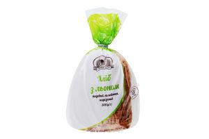 Хліб половинка в нарізці з льоном Кріворіжхліб м/у 300г