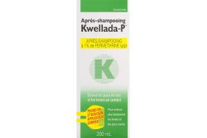 (CN) Kwellada-P Apres-Shampooing, Kwellada-P Creme Rinse