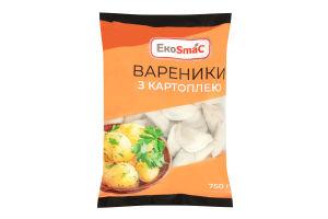 Вареники з картоплею Ekosmac м/у 750г