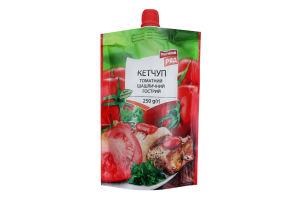 Кетчуп томатний пастеризований Шашличний гострий Перший ряд д/п 250г
