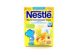 Каша Nestle Мультизлакова з медом, шматоч.абрикосів 250г х9