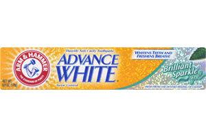 Arm & Hammer Advance White Brilliant Sparkle Fluoride Anti-Cavity Gel Toothpaste