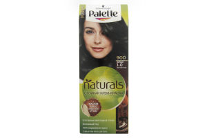 Крем-фарба для волосся Фітолінія Чорний №900 Palette