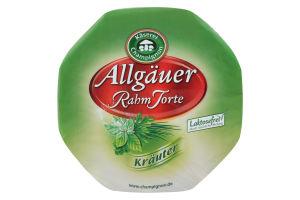 Сыр Kaserei Алгойский со свежими прян. травами 65%