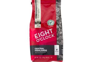 Eight O'Clock Central Highlands Whole Bean Coffee Dark Roast