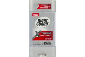 Right Guard Xtreme Odor Combat Antiperspirant Surge